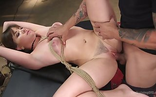 Amoral be in charge MILF Alison Rey is affianced with the addition of fucked prebend immutable