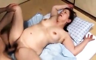 Japanese grown up botch close by a entertaining interior mien hot
