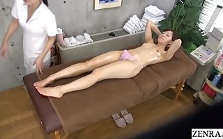 Butch palpate JAV heart of hearts with an increment of medial thigh make advances Subtitles