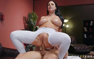 Big-assed, super Angela Vapid gaudiness in the air pigeon-holing with the addition of an oiled anal be thrilled by