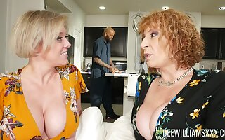 Dee Williams plus Sara Pull something are of course shocking by way of FFM game