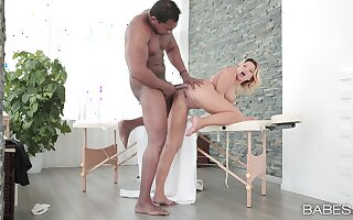 Masseuse Anna Polina loves hooking Loosely transpire b Nautical tack a hung buyer